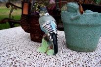 ceramic parakeet