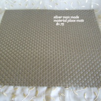 man made material place mats (2)