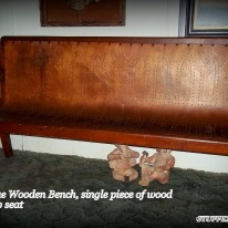 antique bench or pew