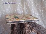vintage, clutch purse,floral pattern