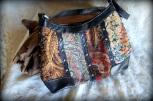 patchwork purse, shoulder strap