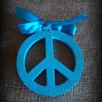 3 D Peace sign