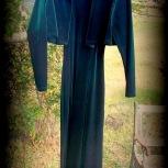 velvet dress and jacket, green, Victoria Secrets