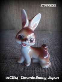 Vtg. Ceramic Bunny