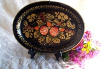 tole oval tray