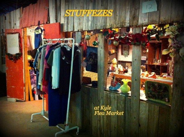 STUFFEZES shop front -Kyle Flea Market