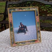 floral 8X10 frame