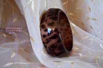 Leopard bangle bracelet-002