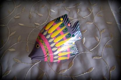 wood fish ring