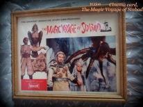 vintage cinema card - Sinbad