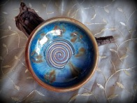 Hand crafted pottery bowl