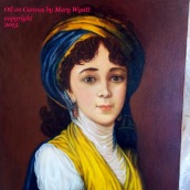 Oil on Canvas- Mary Wyatt