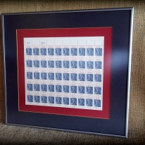 sheet of Liberty 22 cent stamps