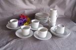 all white pretend play tea set