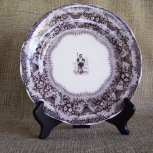 brown-transferware-plate