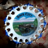 Rock City souvenir plate
