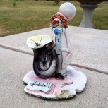 pottery clown by Zi