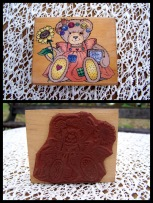 1-craft-stamp-bear-n-flowers