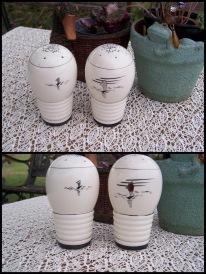 10-ceramic SnP shakers, sailboats