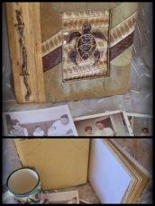 16-Natrl Fiber Turtle Scrapbook